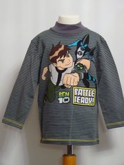 Ben-10 Long Sleeved T-Shirt - Grey - Age 4 years