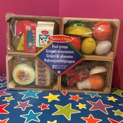 Melissa and Doug Wooden Food Groups