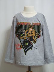 Scooby-Doo Long Sleeved T-Shirt - Light Grey - Age 4 years