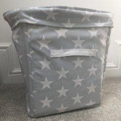 Canvas Storage Tub - Grey