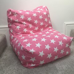 Washable Beanbag Chair - Pink