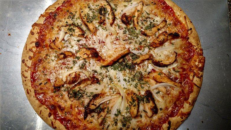 Delicious BBQ Chicken Pizza recipe
