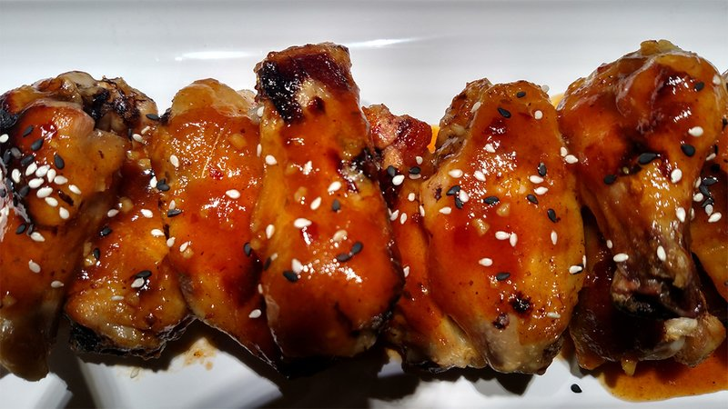 Mouth Watering BBQ Beer Wings recipe