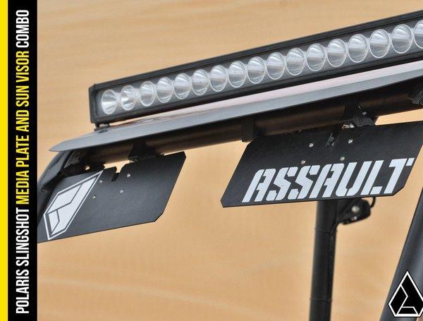 Assault Industries Utv Sun Visors Set Of 2 Sxs Addicts