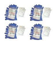 AccuMeth®4-part Composite, Onsite Meth Test Kit, Pack of 20 - Sample 4 Areas for Meth, 0.1 ug/100cm2 target