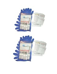 AccuMeth® Discrete, Onsite Meth Test Kit; Pack of 10 - Sample 1 Surface for Meth, 0.1 ug/100cm2 target.