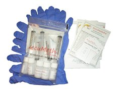 AccuMeth®4-part Composite, Onsite Meth Test Kit, Pack of 5 - Sample 4 Areas for Meth, 0.1 ug/100cm2 target
