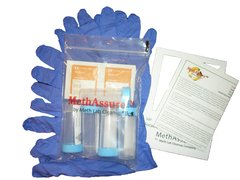 MethAssure® Laboratory Analyzed Meth Test - Pack of 5 - Measure Exactly How Much Meth Is Present to <0.02 ug/100cm2