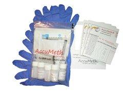 AccuMeth® Discrete, Onsite Meth Test Kit; Pack of 5 - Sample 1 Surface for Meth, 0.1 ug/100cm2 target.