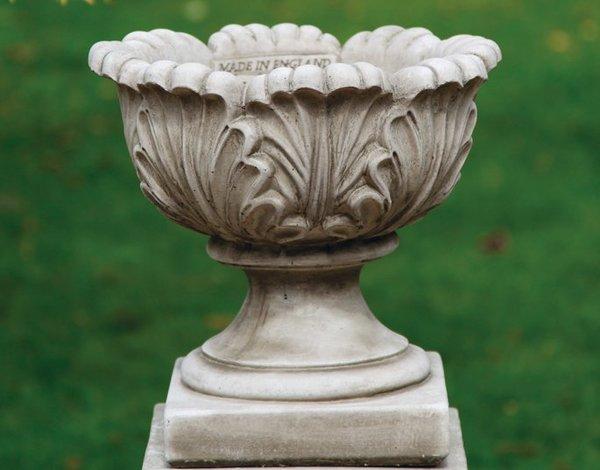 Acanthus Urn Garden Planter Surrey Ornamental Stoneware