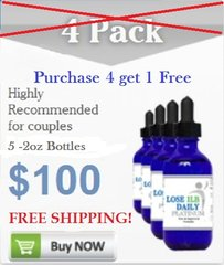 Spring into summer promotion: Purchase 4 Bottles Get 5th Bottle Free!