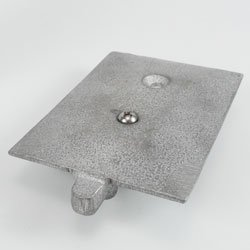 Pulley Assembly Flush Track Includes Pulley Casting
