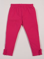 Hot Pink-ees Leggings, Bit-O-Ruffle