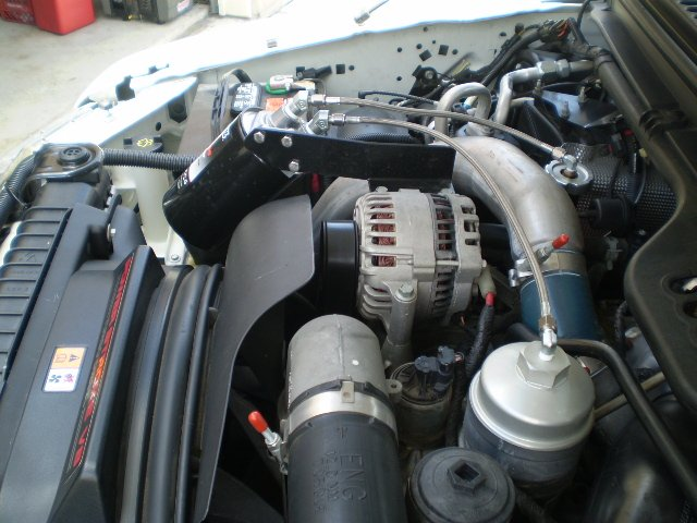 ford installed pics bypass oil filters | oil charge systems