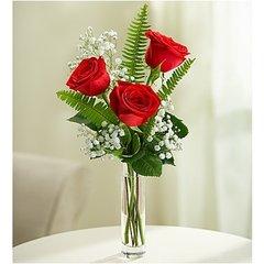 3 STEMS RED LOVE'S EMBRACE - ann06
