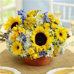 COUNTRY WEDDING CENTERPIECE - wed15