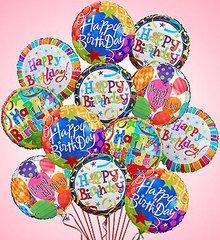 Birthday Mylar Balloons- bir04