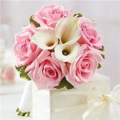 PINK PETITE BOUQUET - wed04