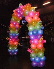 Balloon arch NEON - bal04
