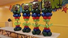 Centerpiece balloons table - bal12