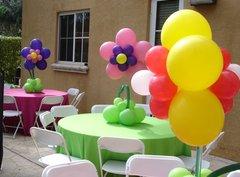 Centerpiece flower balloon - bal13