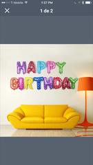 Happy birthday balloons -bal10