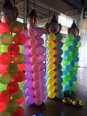 Big colum of balloon 10 ft - bal07
