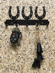 Horseshoe Metal Key Holder
