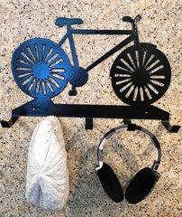 Bicycle Metal Hat Holder