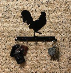 Rooster Metal Key Holder