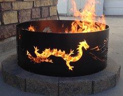 Metal Dragon Fire Ring