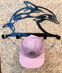 Dolphin Metal Hat Holder