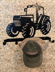 Tractor Metal Hat Holder