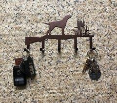 Hunting Metal Key Holder