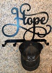 Hope Metal Hat Holder