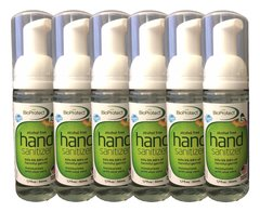 (2006) - 6 Pack - 50ml / 1.7 oz. GFS BioProtect Hand Sanitizer - Purse/Pocket Size Container