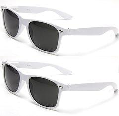 Retro White – 4 Pair