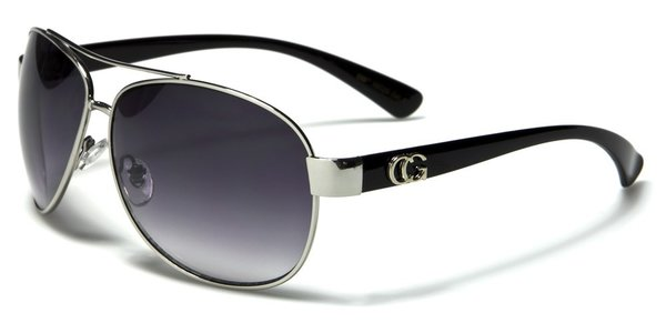 38026 CG Eyewear Aviator Black