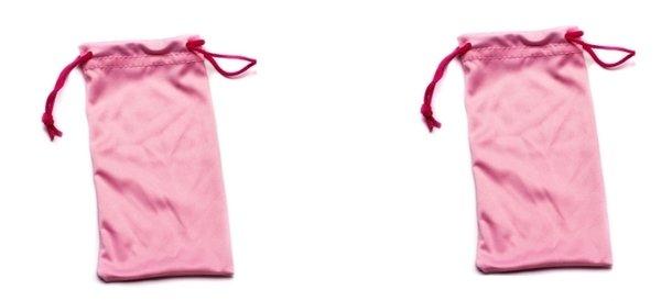 Microfiber Bags Pink – 2 Bags
