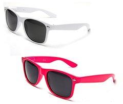 Retro – 1 White and 1 Pink