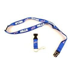 NFL Buffalo Bills Lanyard Blue