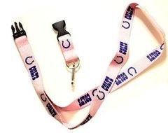 NFL Indianapolis Colts Pink Lanyard