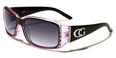 1808 CG Eyewear Rhinestone Black Pink