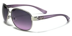 38026 CG Eyewear Aviator Purple