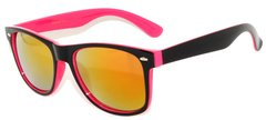 Retro Two-toned Black and Pink with REVO Lens