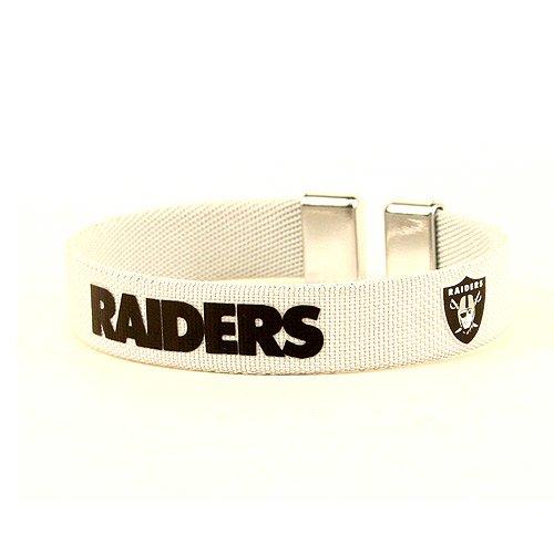 NFL Oakland Raiders Fan Bracelet