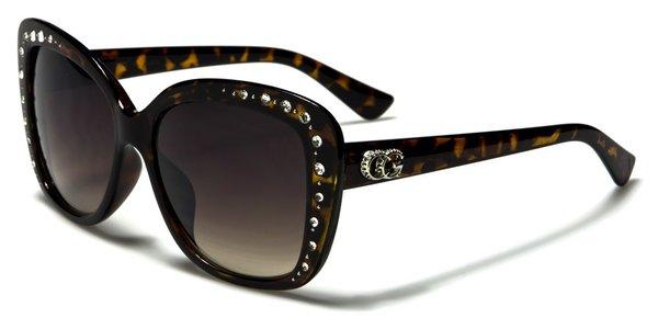 1809 CG Eyewear Rhinestone Tortoise Shell