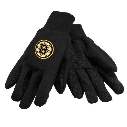 NHL Boston Bruins Black Sport Utility Gloves