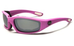 901 Choppers Pink Mirror Lens