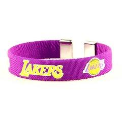 NBA Los Angeles Lakers Fan Bracelet